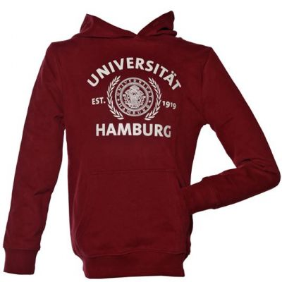 Lütte Hoody in burgundy