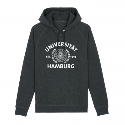 Hoody dark heather grey