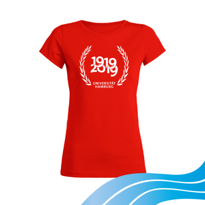 Jahr100Shirt DEERN red