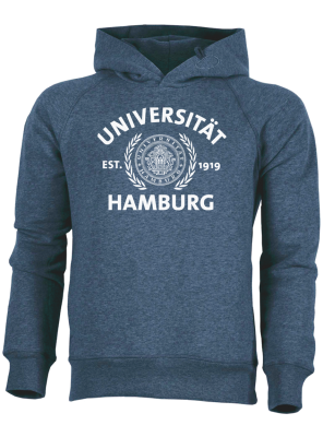JUNG Hoody dark heather blue