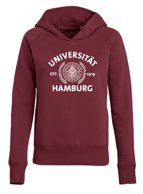 DEERN Hoody in burgundy