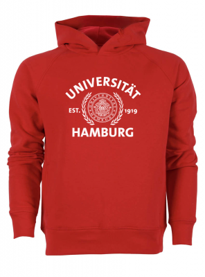 JUNG Hoody in red