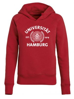 DEERN Hoody in red