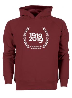 JUNG Hoody in burgundy